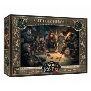 A Song of Ice & Fire: Free Folk Heroes Box 1