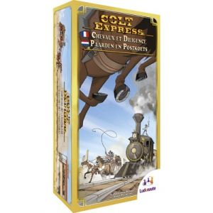 Colt Express - Paarden en Postkoets