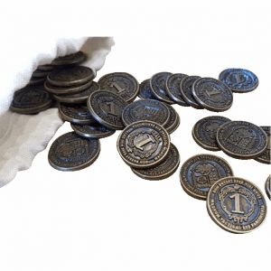 Glen More II: Chronicles Metal Coins