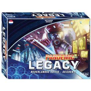 Pandemic Legacy NL - Blue Edition