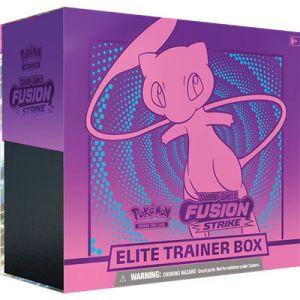 Pokemon Sword & Shield Fusion Strike Elite Trainer Box