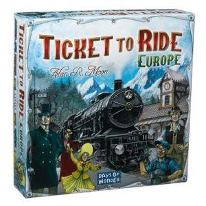 Ticket to Ride - Europe (Nederlandstalig)