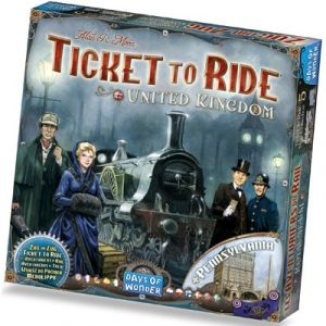 Ticket To Ride - United Kingdom - Pennsylvania