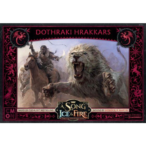 A Song Of Ice And Fire - Targaryen Dothraki Hrakkars