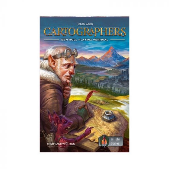 Cartographers: A Roll Player Tale (Nederlandstalig)