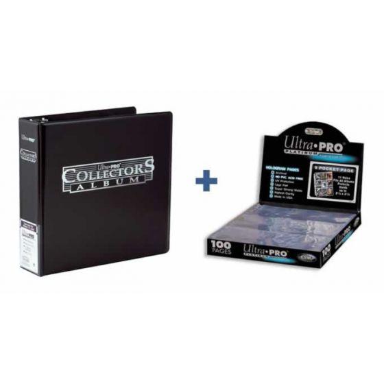 Collector's Album Black - Pakket