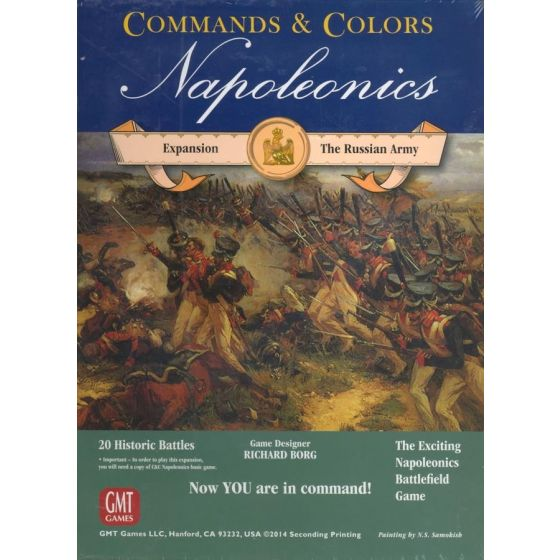 Commands & Colors Napoleonics Expansion #2 – The Russian Army