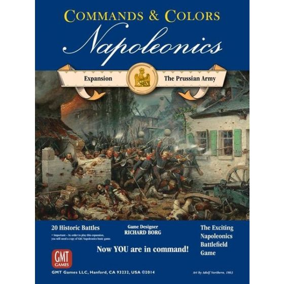 Commands & Colors: Napoleonics Expansion #4 – The Prussian Army