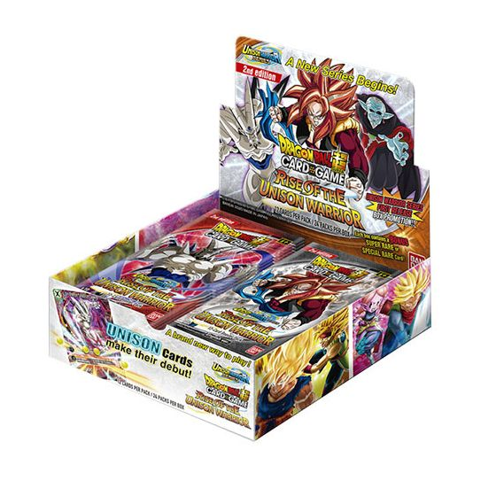 Dragon Ball SCG Unison Warrior Series - Rise of the Unison Warrior (2nd edition) - Booster box