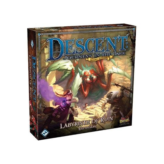 Descent Journeys in the Dark Labyrinth of Ruin Expansion