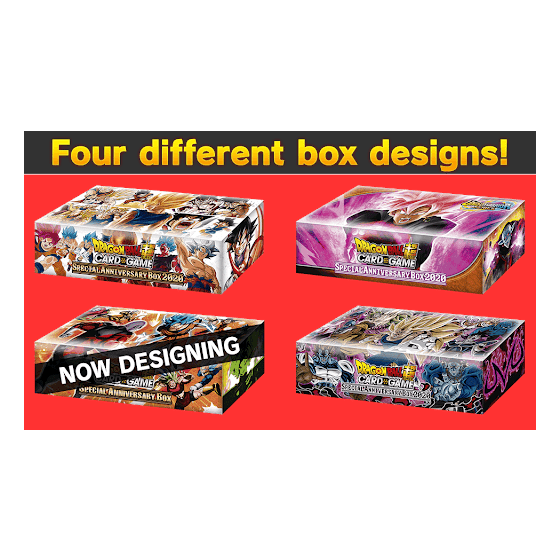 DRAGON BALL SUPER CARD GAME Special Anniversary Box 2020
