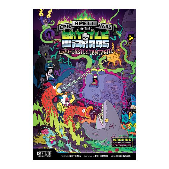 Epic Spell Wars of the Battle Wizards: Rumble at Castle Tentakill