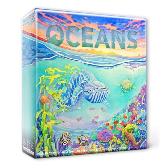 Evolution: Oceans Boardgame Deluxe edition