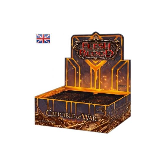 Flesh & Blood TCG - Crucible of War First Edition Booster Box