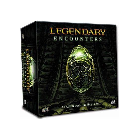 Legendary Encounters Alien Deck Building Game