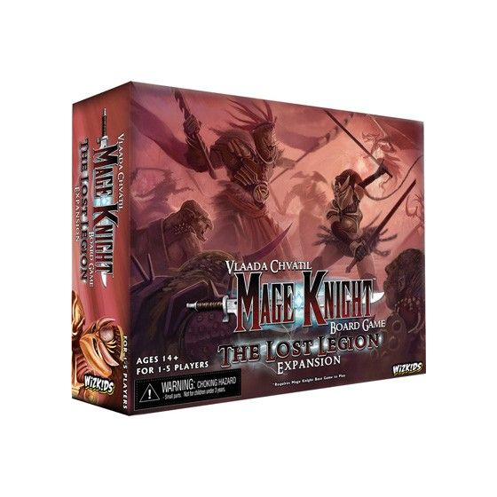 Mage Knight Lost Legion Expansion