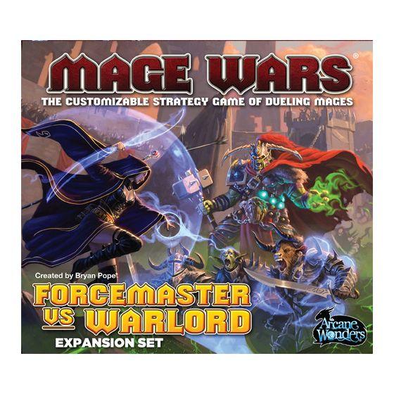 Mage Wars Forcemaster vs Warlord