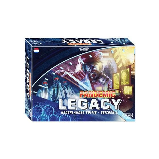 Pandemic Legacy NL - Blue Edition