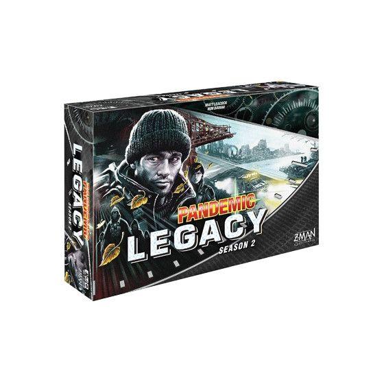 Pandemic Legacy: Season 2 Black (Engelstalig)