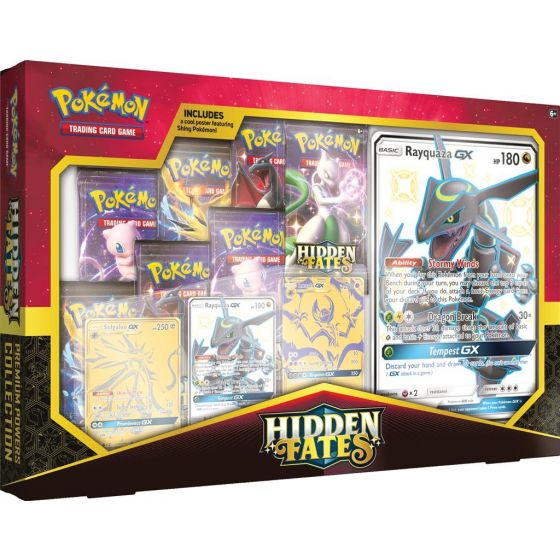 Pokémon Hidden Fates Premium Powers Collection