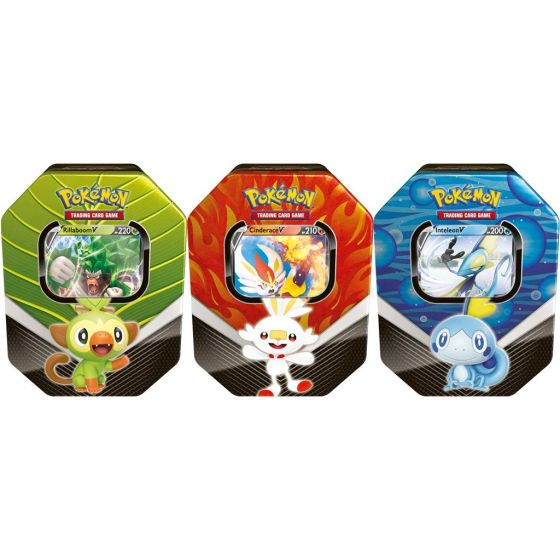 Pokémon TCG: Spring Tin 2020 - Galar Partners Tin bundel