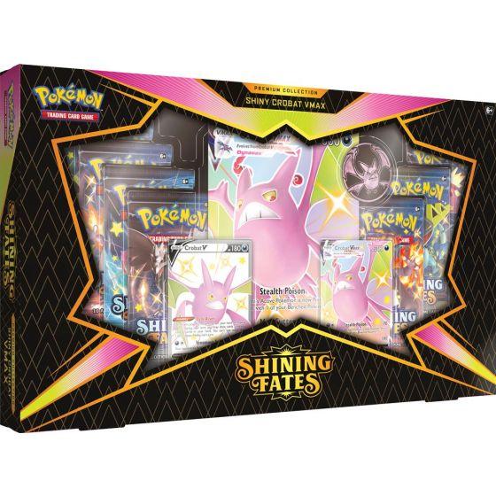 Pokemon Shining Fates Premium Collection - Shiny Crobat VMAX
