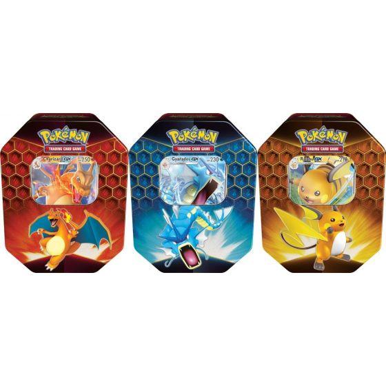 Pokemon Hidden Fates Tin bundel