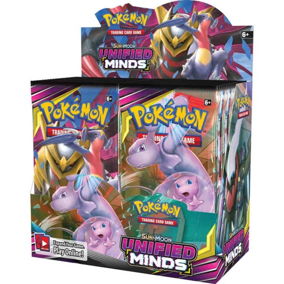 Pokemon Sun & Moon Unified Minds - Booster Box