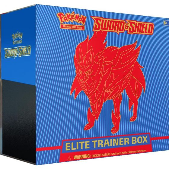 Pokemon Sword & Shield Elite Trainer Box - Zamazenta