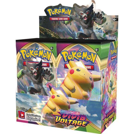 Pokemon Sword & Shield Vivid Voltage Booster Box