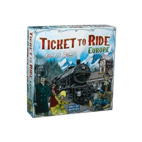Ticket to Ride - Europe (Nederlandstalig)