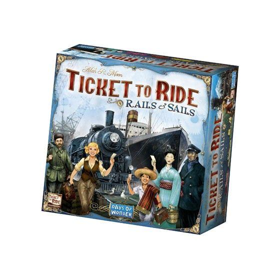 Ticket to Ride - Rails & Sails  (Nederlandstalig)