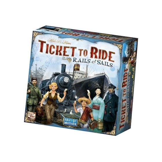 Ticket to Ride - Rails & Sails (Engelstalig)