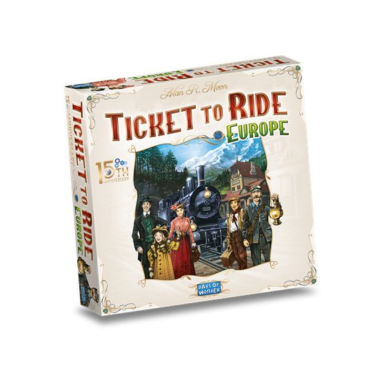 Ticket to Ride Europe 15th Anniversary - NL