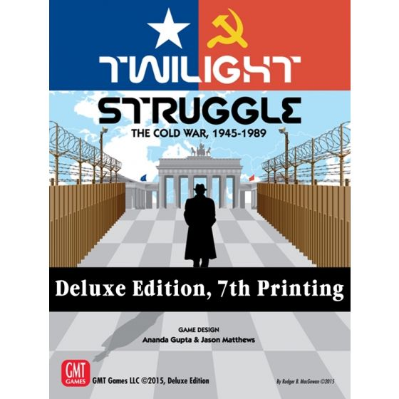 Twilight Struggle - Deluxe Edition 7th Printing