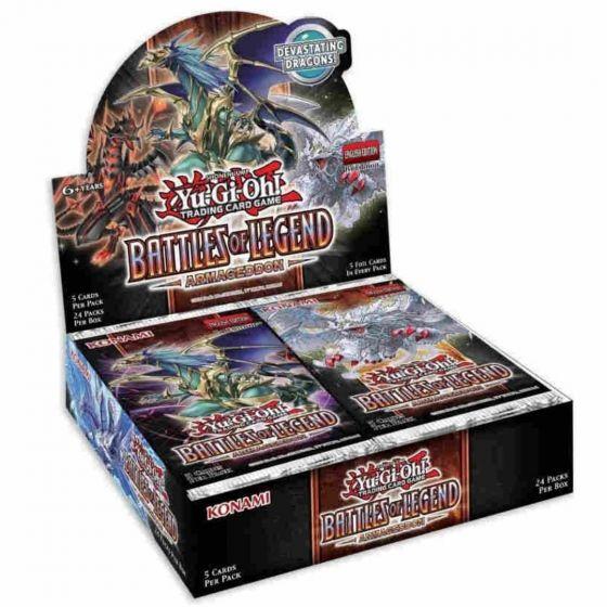 YGO - Battles of Legend: Armageddon - Booster Box