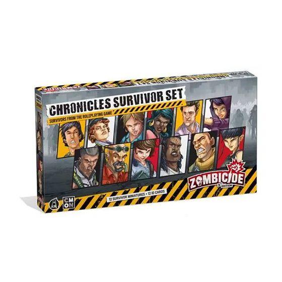 Zombicide (2nd Edition): Chronicles Survivor Set