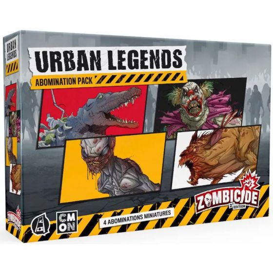 Zombicide (2nd Edition): Urban Legends Abominations
