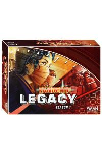 Pandemic Legacy: Season 1 Red (Engelstalig)