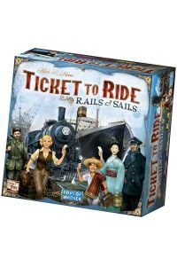 Ticket to Ride - Rails & Sails  (Nederlandstalig)