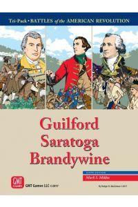 Tri-Pack Battles of the American Revolution – Guilford, Saratoga, Brandywine